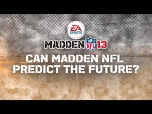 Madden 2013 touts Super Bowl clairvoyancy