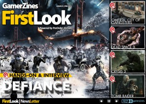 New Digital Gaming Magazine, FirstLook Launches
